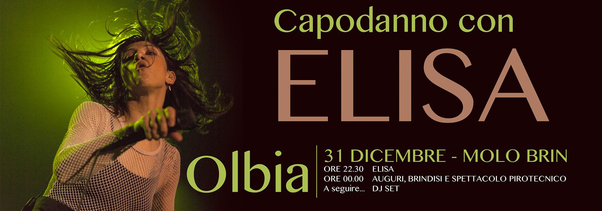 Concerto Elisa Capodanno Olbiese